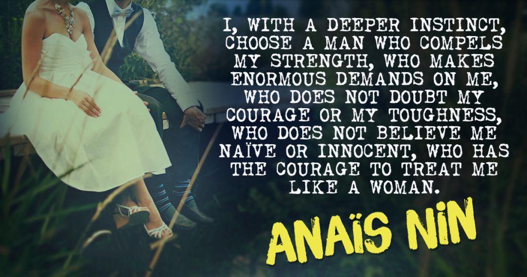 Anais Nin Quotes