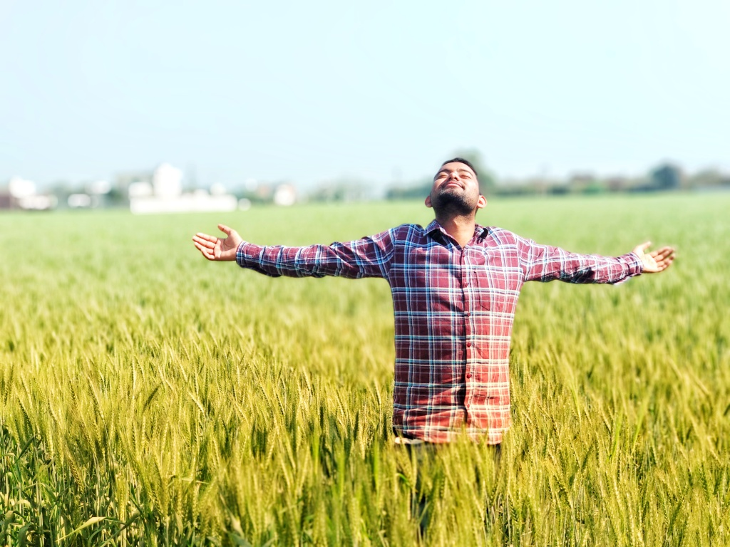 Preet Kamal In Field