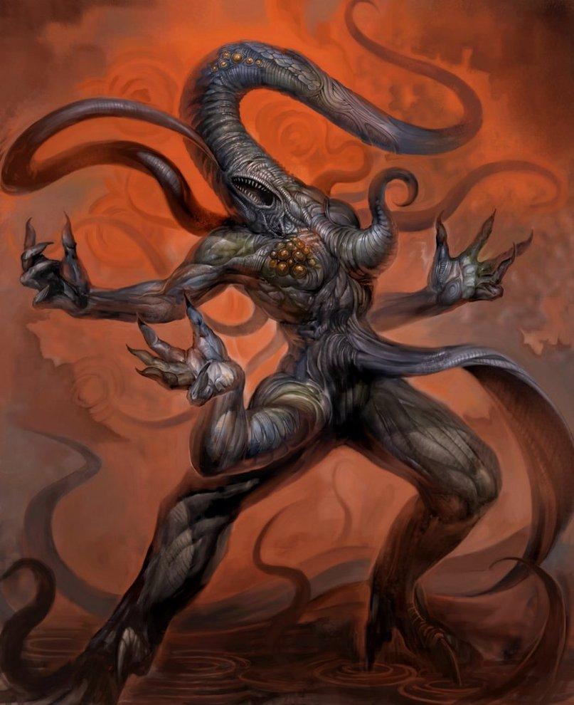 Nyarlathotep Monster