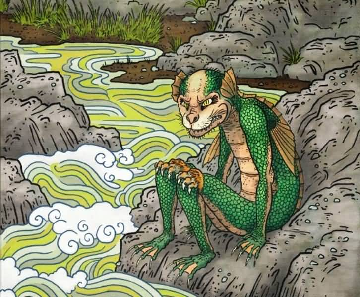 Yokai Kappa Creature