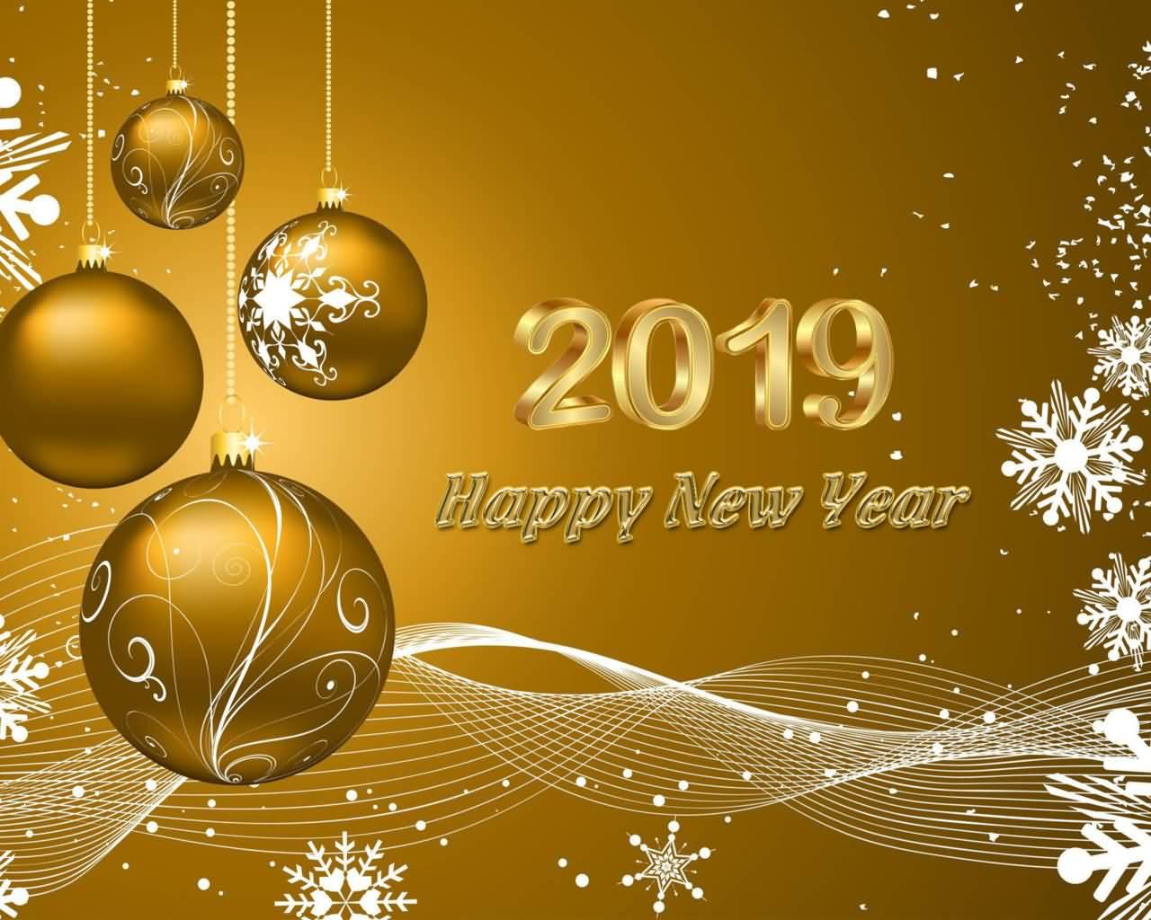 2019 Happy New Year Greeting