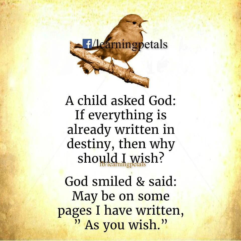 A Child Asked God Awesome Quotes