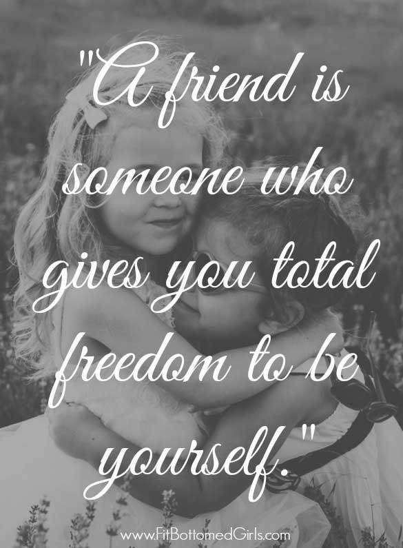 A Friend Is Someone Who True Friendship Quotes