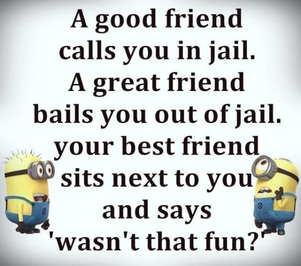 A Good Friend Calls Funny Best Friend Quotes
