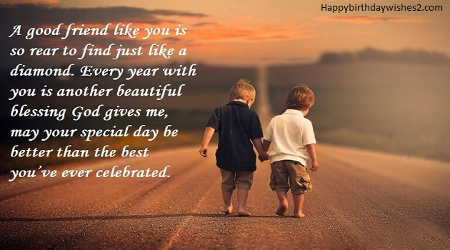A Good Friend Like You Best Friend Birthday Quotes