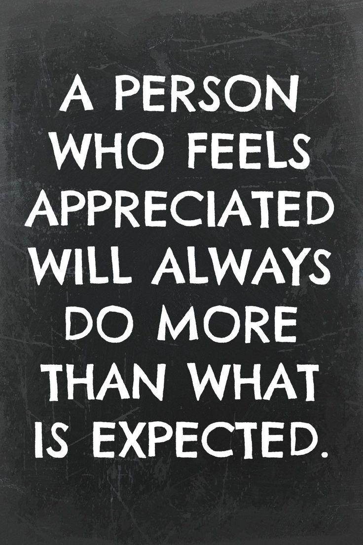 A Person Who Feels Appreciation Quotes