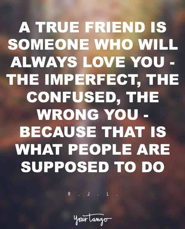 A True Friend Is True Friendship Quotes