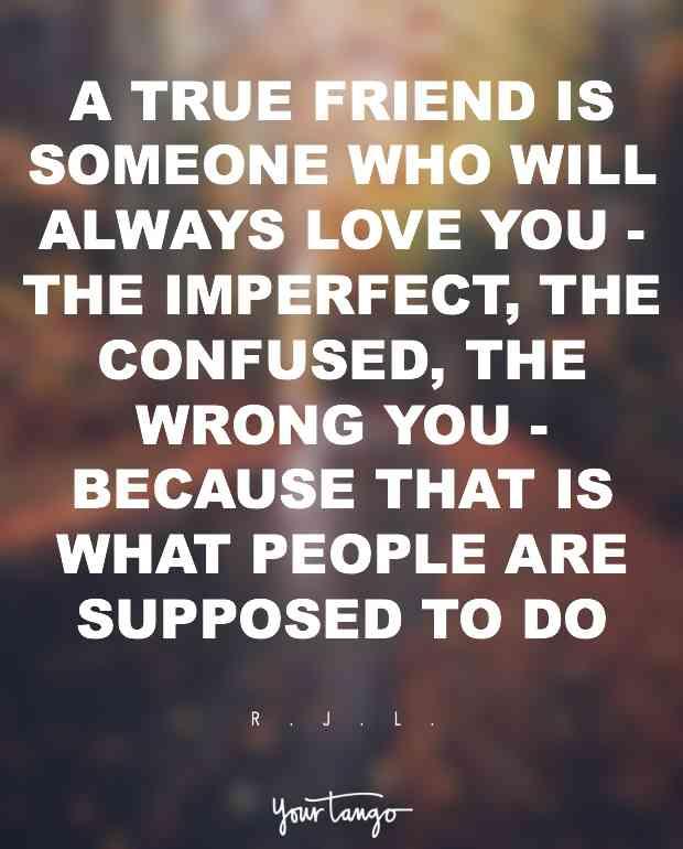 A True Friend Is True Friendship Quotes
