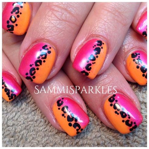 Amazing Animal print nail art For Girls