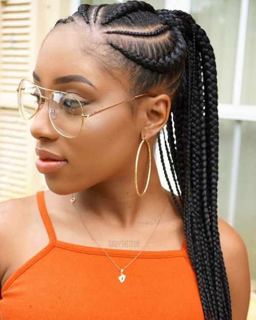 Amazing ponytail Braid Hairstyle
