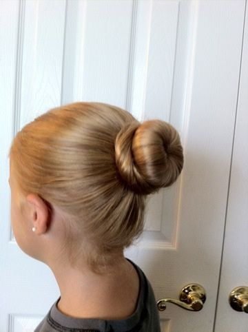 Amazing tight Bun Hairstyle