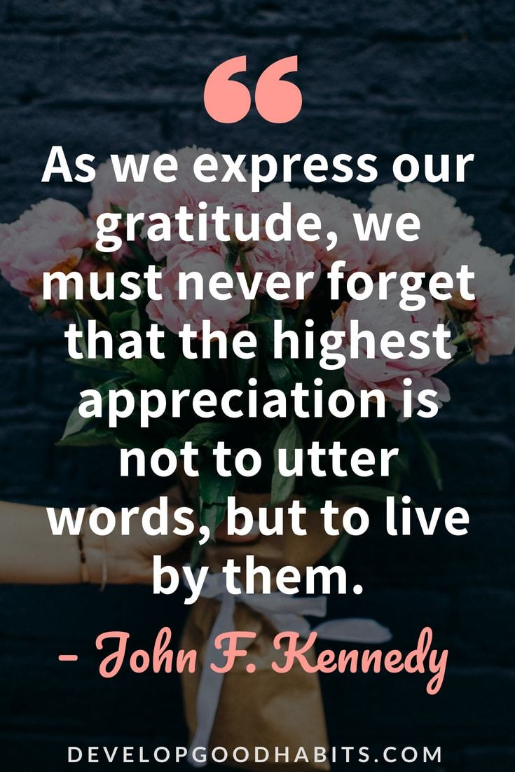 As We Express Our Appreciation Quotes