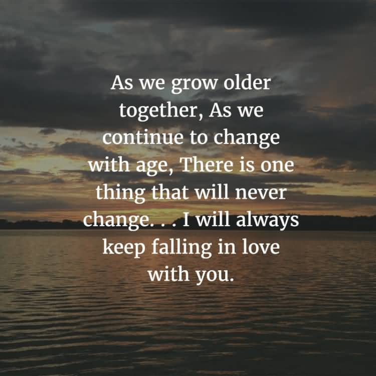 As We Grow Elder Anniversary Quotes