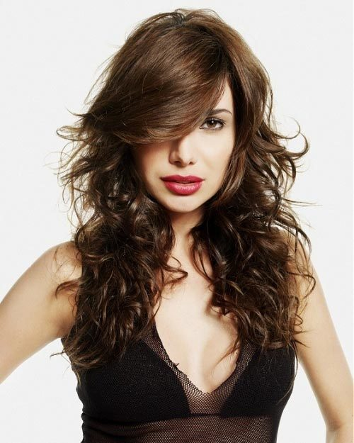 Attractive long style for romance Layer Hairstyle