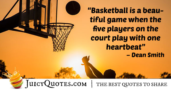 Basketball Is A Beautiful Game Basketball Quotes