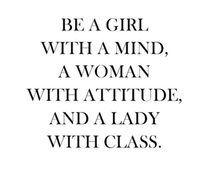 Be A Girl With Cute Quotes