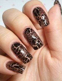 Beautiful Animal print nail art