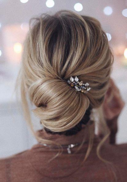 Beautiful girlish Bun Hairstyle