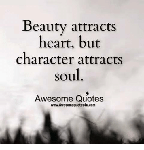 Beauty Attracts Heart But Beauty Quotes