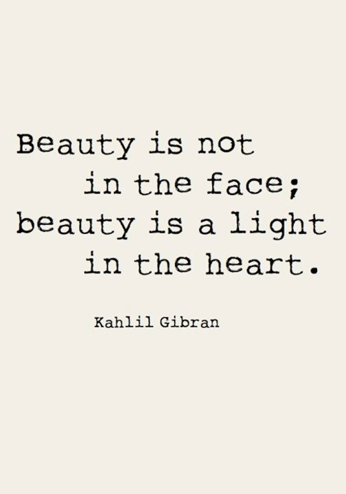 Beauty Is Not In The Beauty Quotes
