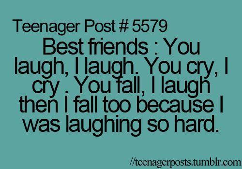 Best Friends You Laugh Funny Best Friend Quotes