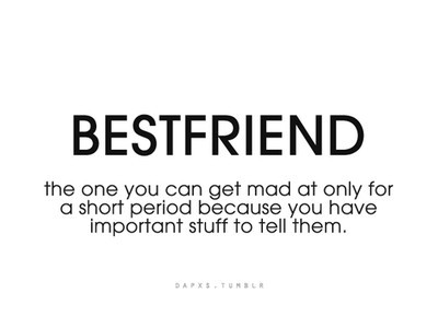 Bestfriend The One You Short Best Friend Quotes