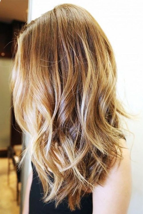Catchy style for girls Layer Hairstyle
