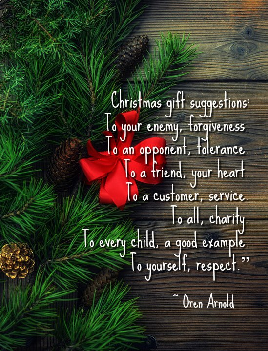 Christmas Gifts Suggestions To Christmas Quotes
