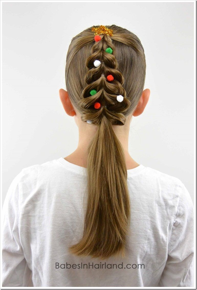 Christmas long style Kids Hairstyle