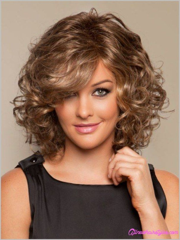 Cute Look on girls Curly Hairstyle