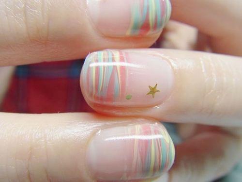 Cute colorful gel Classy nail art