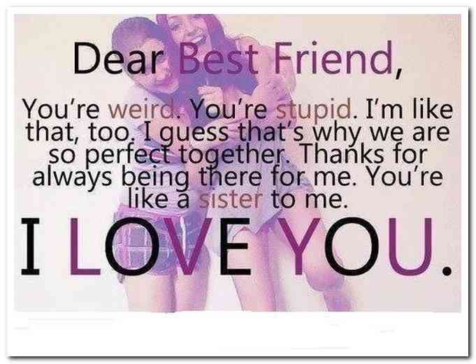 Dear Best Friend Youre Birthday Quotes