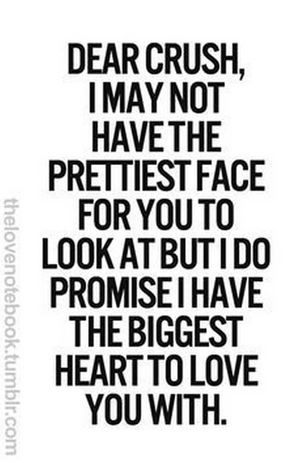 Dear Crush I May Crush Quotes