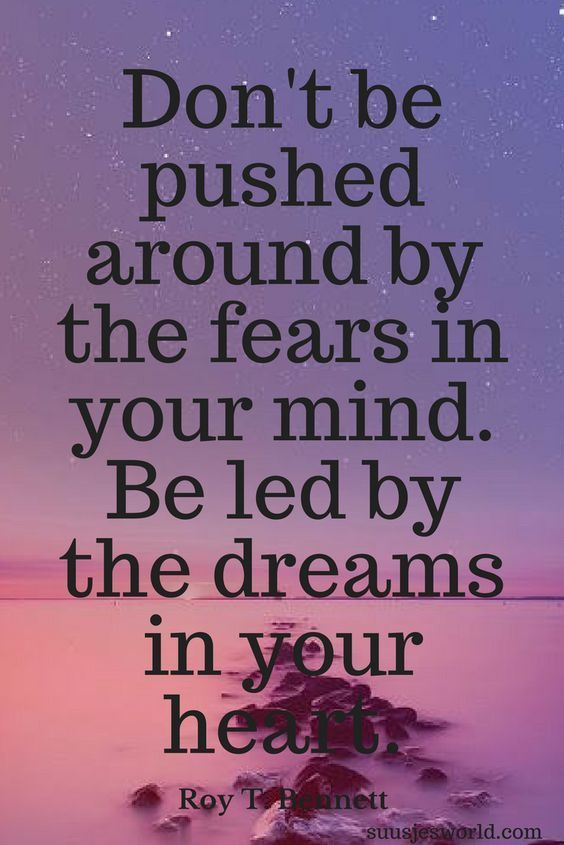 Don't Be Pushed Around Amazing Quotes