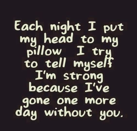 Each Night I Put Broken Hearted Quotes