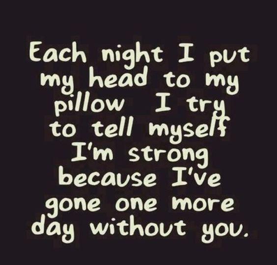 Each Night I Put My Broken Heart Quotes