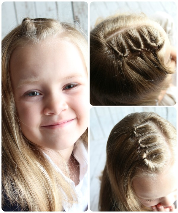 Easy top style Kids Hairstyle