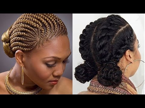 Elegant designs Braid Hairstyle