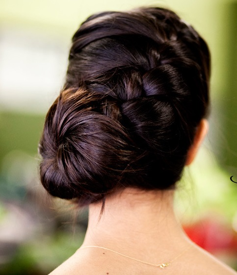 Epic braid black Bun Hairstyle