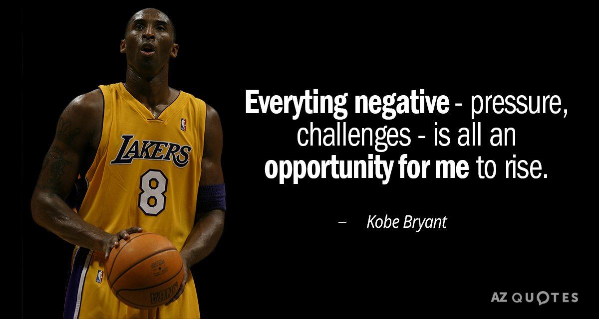 Everything Negative Pressure Challenges Basketball Quotes