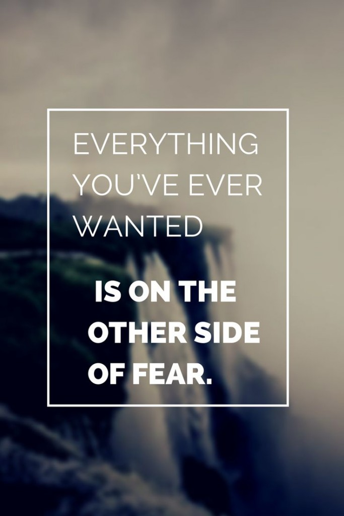 Everything You've Ever Wanted Amazing Quotes