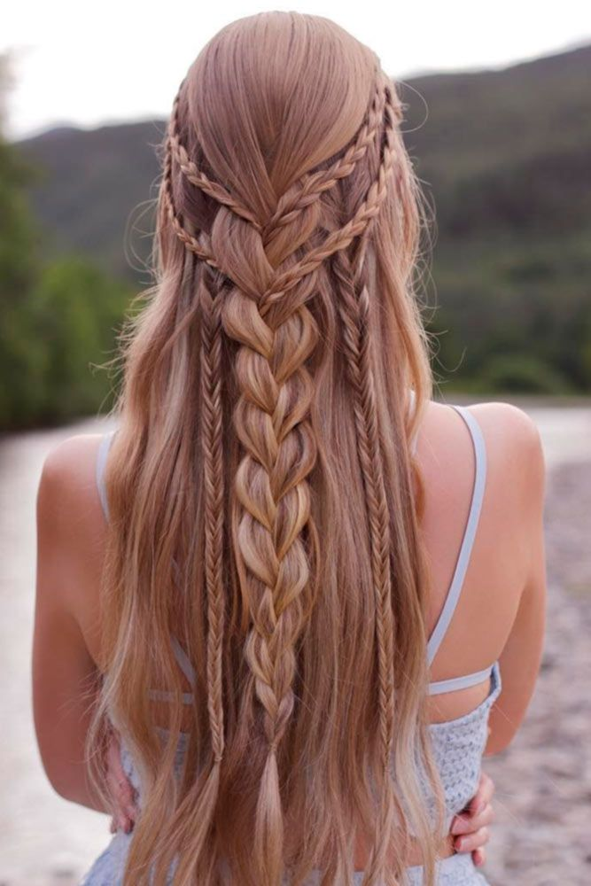 Fabulous multiple Braid Hairstyle