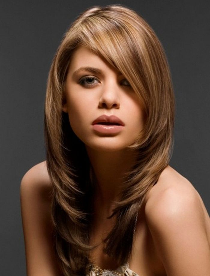 Fancy style for stylish girls Layer Hairstyle