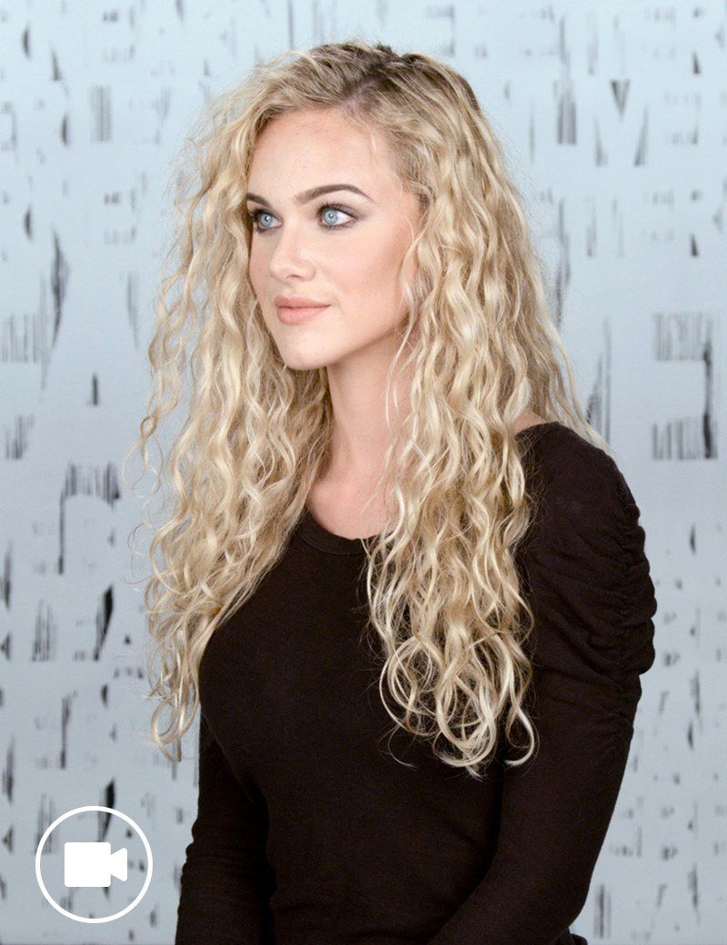 Fantastic long hair Curly Hairstyle