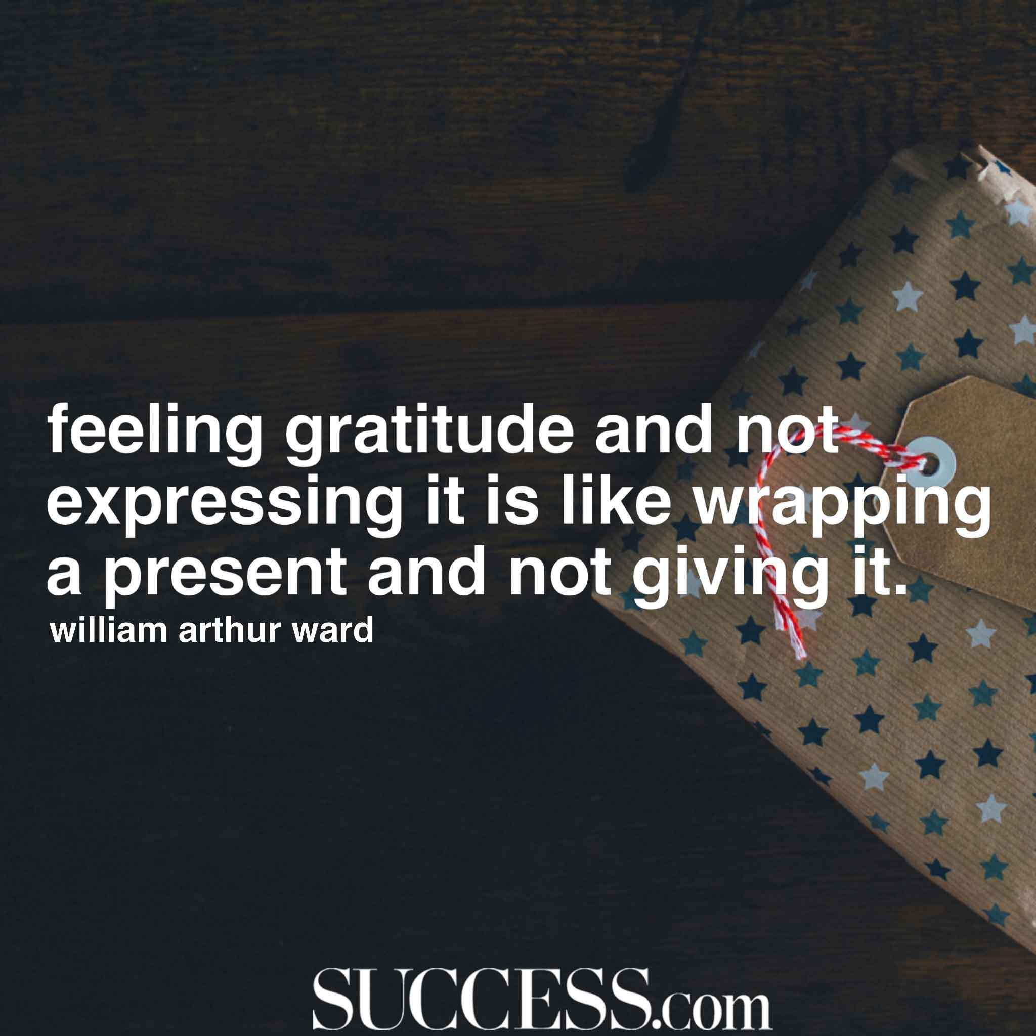 Feeling Gratitude And Not Appreciation Quotes