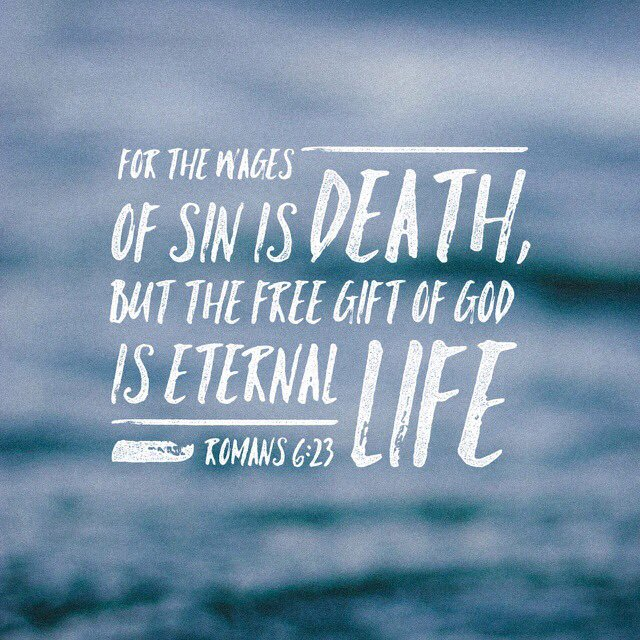 For The Wages Of Sin Christian Quotes