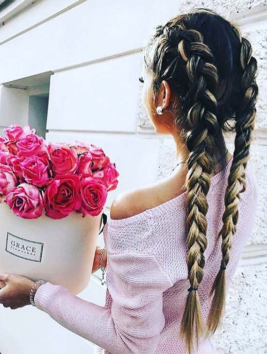 For amazing boxer girls Braid Hairstyle