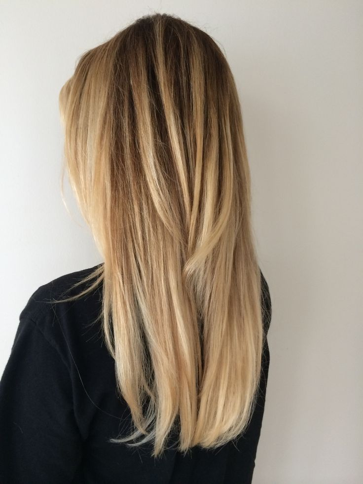 For girlish style long hair Layer Hairstyle