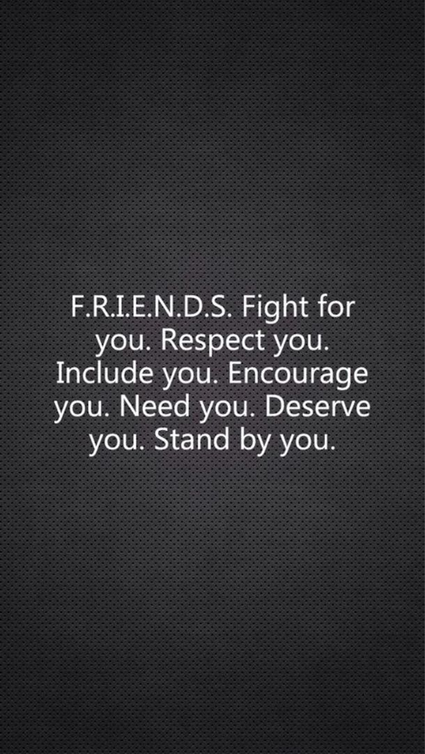 Friends Fight For You True Friendship Quotes
