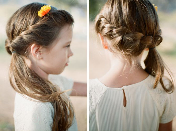 Glorious braid style Kids Hairstyle